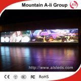 Visualizzazione di LED dell'affitto di colore completo P3/parete dell'interno di alta risoluzione di immagine