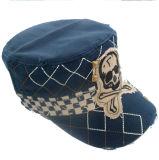 Sombrero militar lavado con el Applique (MT22)