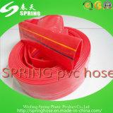 Шланг PVC Layflat/шланг разрядки положенный шлангом плоский для полива