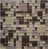 Tuile de mosaïque en verre mélangée par Gp03 de taille de mélange de série multi de puzzle