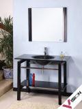 Cabinet de salle de bains en verre (VS-G139)