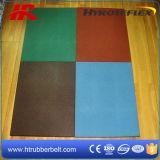 スポーツのゴム製フロアーリング、運動場のゴム製タイル、正方形のゴム製床のマット
