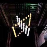 Bille de levage neuve de DMX DEL pour l'éclairage de disco d'étape (HL-054)