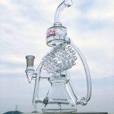 Heibei Fabrik-Großverkauf-Eiscremebecher-Stapel KLEKS stellt rauchendes Wasser-Glasrohr ein