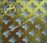 Decorativo metal perforado