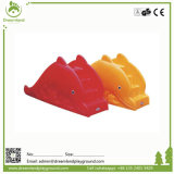 Скольжение прочного высокого качества цветастое крытое пластичное для малышей