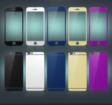 протектор экрана Tempered стекла зеркала цвета 2.5D для iPhone 6/6s