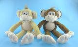 연약한 채워진 견면 벨벳 원숭이 장난감