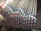 Tubo de acero galvanizado por inmersión en caliente ERW