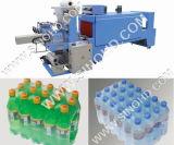 Botella de agua de la máquina de embalaje automática del encogimiento