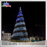 Albero di Natale gigante esterno dell'indicatore luminoso LED della decorazione di natale