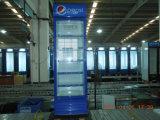 단 하나 문 기계적인 통제를 가진 강직한 전시 음료 냉각기 진열장