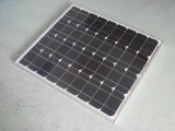 panneau solaire 80W monocristallin pour le réverbère solaire