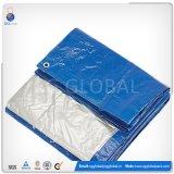 Couverture de bâche de protection de PE bleu de couleur de la Chine poly pour le marché du Japon