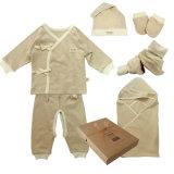 Caixa de presente orgânica do bebê do algodão