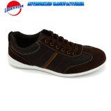 Новые ботинки людей Comfortble вскользь с кожей PU