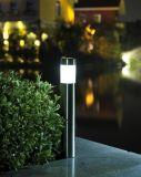 Lumière solaire de jardin d'acier inoxydable, lumière solaire d'horizontal