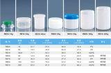 60g HDPE de Doorzichtige Plastic Verpakking van de Doos van de Zalf