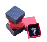 Papierschmucksache-Kasten-/Farbband-Geschenk-verpackender Papierkasten mit Schaumgummi