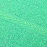 中東への明るいカラータオル14s 80%の綿のエクスポート