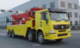 판매를 위한 371HP 8*4 구조차/복구 견인 트럭