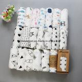 Муслин хлопка младенца Swaddle младенец подарка одеял, котор установленный муслин Swaddle комплекты Breathable мягкое Esg10242 подарка ливня питомника одеял Swaddling Blanket
