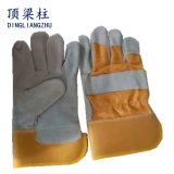 Перчатки заварки безопасности Split кожи коровы высокого качества в фабрике