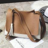 A cor quente Crossbody do contraste da tendência ensaca o saco de couro da mensagem da bolsa do plutônio para senhoras em Guangzhou Sy8533