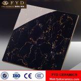 Чернота Foshan и плитки золота застекленные плиткой мраморный