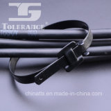 Plastik und Belüftung-überzogene abwerfbare Edelstahl-Kabelbinder