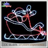 훈장 빛을%s 편지가 휴일 실내 크리스마스에 의하여 LED 점화한다