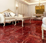 Azulejo Polished lleno esmaltado del mármol de la copia del azulejo de piso de la porcelana