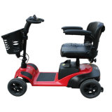 4wheel arbeitsunfähiger elektrischer Mobilitäts-Roller mit Hauptlichtern