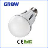 Lâmpada de alumínio do bulbo do diodo emissor de luz de E27 15W SMD (GR909)