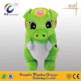 おもちゃの電池式の歩く動物の乗車