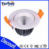 poder más elevado Ceiling Lighting LED Downlight de 5W 10W 15W 20W COB