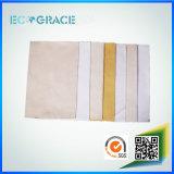 Filtro de bolso de acrílico de polvo de 550 G/M para el proceso de la fundición