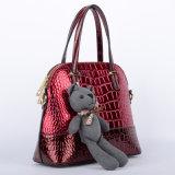 가장 새로운 디자이너 고품질 여자 가죽 핸드백 (P6443-2)