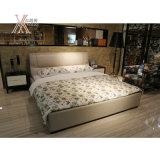 침실 (2102+62)를 위한 최고 털쪽을 겉으로 하여 다듬은 가죽 침대