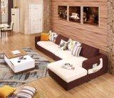 Tela moderna del sofá del último nuevo diseño 2016