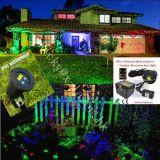 Luzes de Natal da paisagem da estrela da noite todo o projetor do laser dos festivais para lasers ao ar livre do Xmas