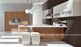 Americana Mobiliario de cocina MDF Laquer gabinete de cocina