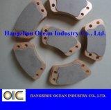 Boutons de cuivre en céramique d'embrayage de frottement
