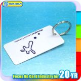 Tag chave da lealdade do código de barras da alameda de compra