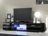 Carrinho de madeira moderno da tevê da mobília do diodo emissor de luz do RGB do armário (BR-TV781)