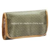 Mirrorの折られたTravel Toiletry Promotional Makeup Cosmetic Bag