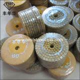 """Tampone a cuscinetti per lucidare del metallo ibrido del diamante Wd-9 (3-6 """")"""