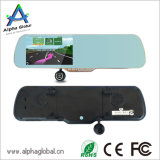 1080P androide de la pantalla táctil trasera del coche DVR del espejo retrovisor con GPS, Bluetooth, FM