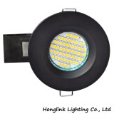 Пожар Rated Downlight Matt черный BS476 GU10 с Ce RoHS