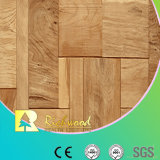 Assoalho de Laminbated da noz da textura do Woodgrain do agregado familiar 12.3mm E0 HDF